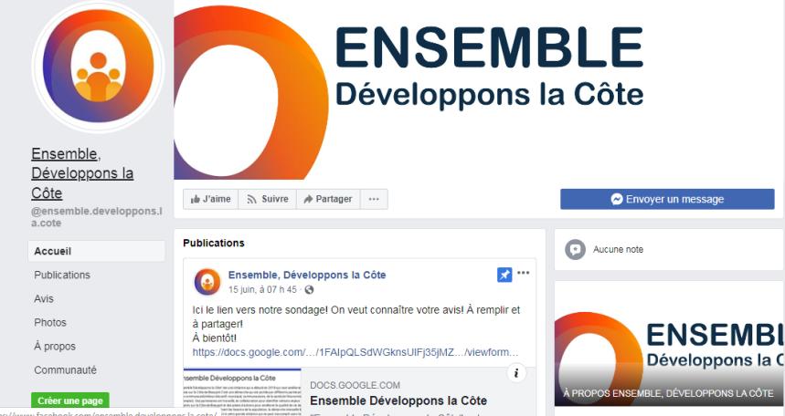 Lancement de la démarche Ensemble Développons la Côte