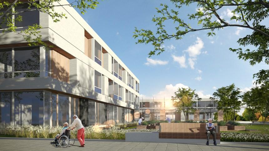Nouvelle maison des aînés dans Lebourgneuf