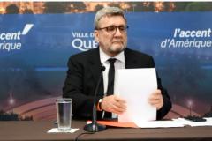 Le maire Régis Labeaume menacé sur Facebook