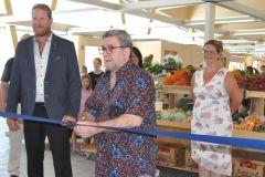 Le Marché public de Sainte-Foyinaugure ses nouvelles installations