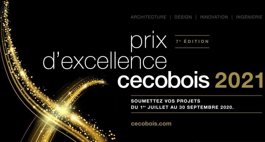 Appel de candidatures aux Prix d'excellence Cecobois 2021