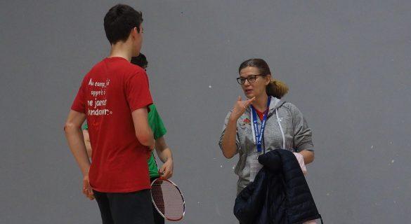 Chantal Jobin prend la destinée du badminton lavallois