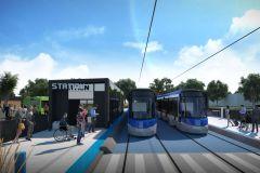 Le projet de tramway pas affecté par la pandémie