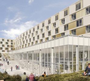 Ajout de logements étudiants à l'Université Laval