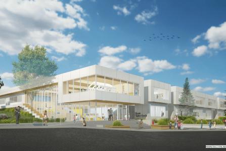 Nouvelle école primaire à Saint-Émile