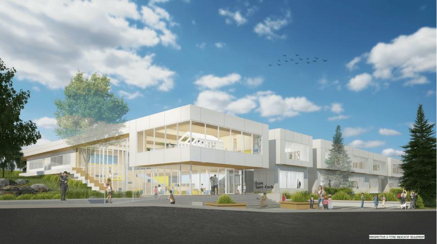 Le nom de la nouvelle école primaire de Saint-Émile dévoilé
