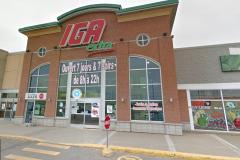 Début d'incendie au IGA Extra des Gradins