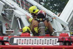 Immeuble désaffecté incendié à Sillery