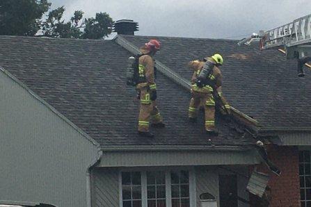 Début d'incendie dans un jumelé de Loretteville