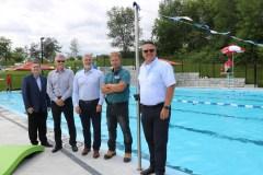 Nouvelle piscine à Château-Richer