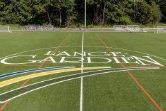 Inauguration du terrain de soccer à L'Ange-Gardien