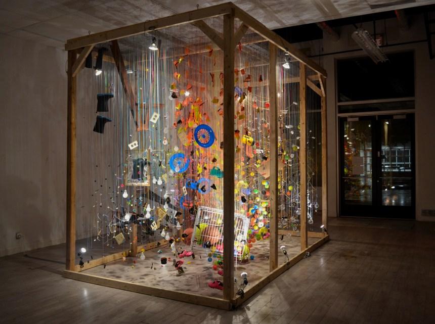 Jérôme Trudelle présente son exposition Chronosculpture