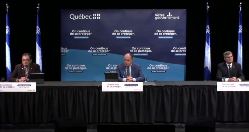 Québec ne favorise pas un logiciel de traçage… pour l'instant