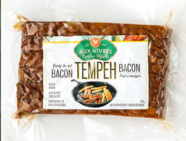 Avis de ne pas consommer du tempeh et du burger végétalien