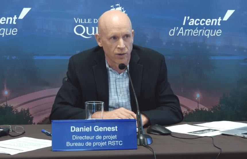 Daniel Genest abandonne temporairement le projet du tramway