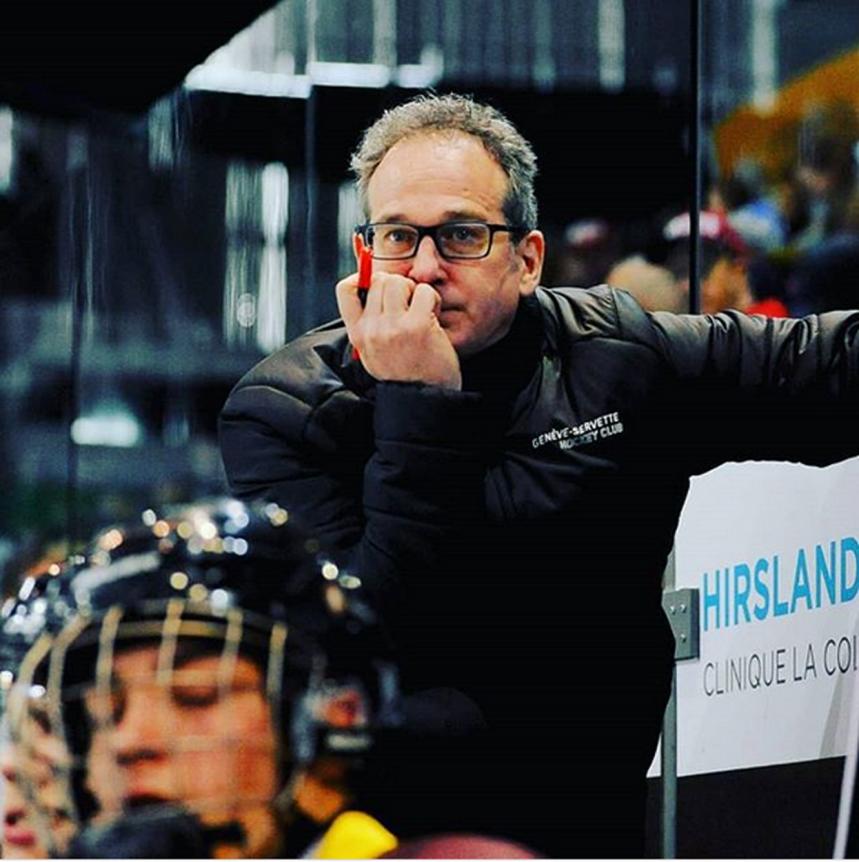 Entraîneur du Genève-Servette HC: Patrick Emond, de Duberger, vit sa passion en Suisse