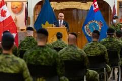 Jean-Yves Duclos remercie les militaires déployés en CHSLD