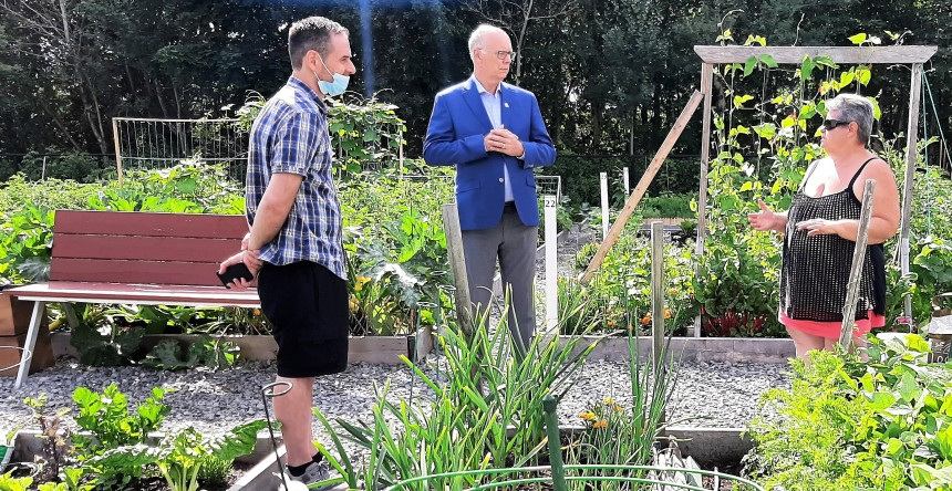 Aide financière au jardinage public