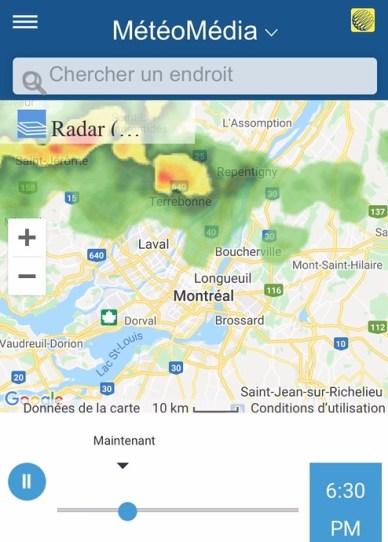 Radar de Météomédia