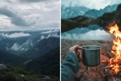 Campez à 900m d'altitude au sommet du mont des Morios dans Charlevoix