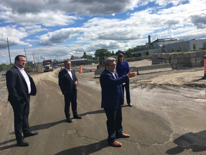 La zone d'innovation, le tramway et le projet Laurentia pour  la relance économique de la Ville de Québec