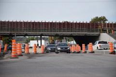 Rythme soutenu pour la reconstruction du viaduc