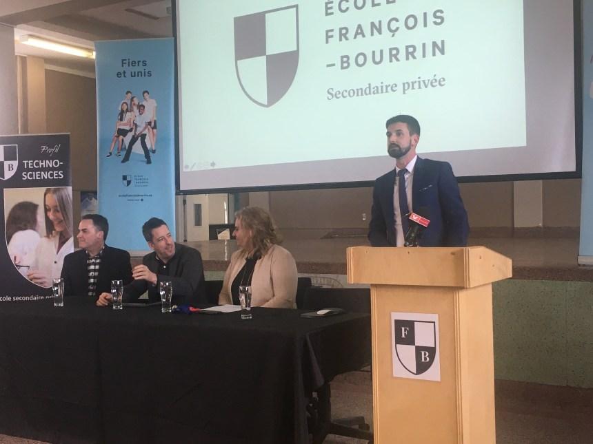 Une visite virtuelle pour l'école François-Bourrin