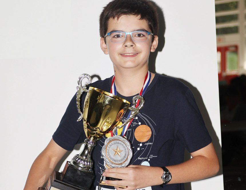 Philippe Langlois remporte la coupe Pierre-Boulianne