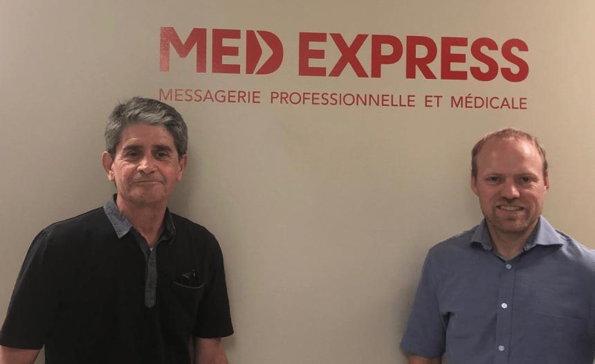 Med Express fait l'acquisition de Canbec Courrier