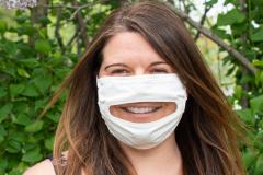 Démocratiser les masques transparents pour faciliter la communication