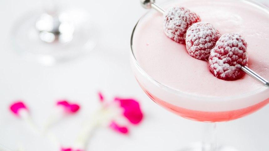 Le meilleur cocktail à la framboise à base de blancs d'œufs