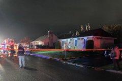 Début d'incendie sur la rue de la Ferme à L'Ancienne-Lorette