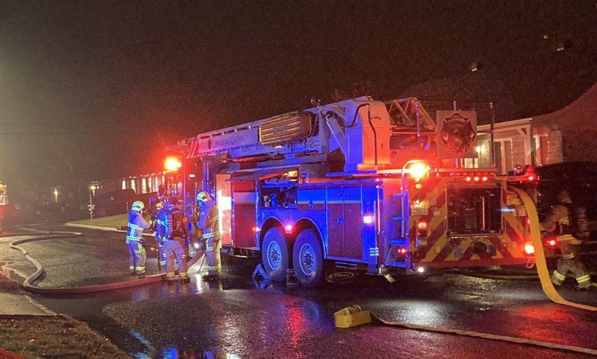 Début d'incendie au Port de Québec