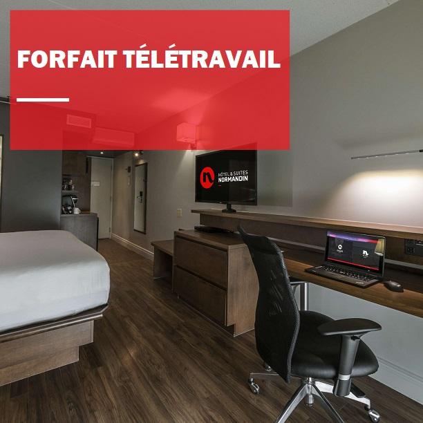 Normandin offre ses chambres pour du télétravail