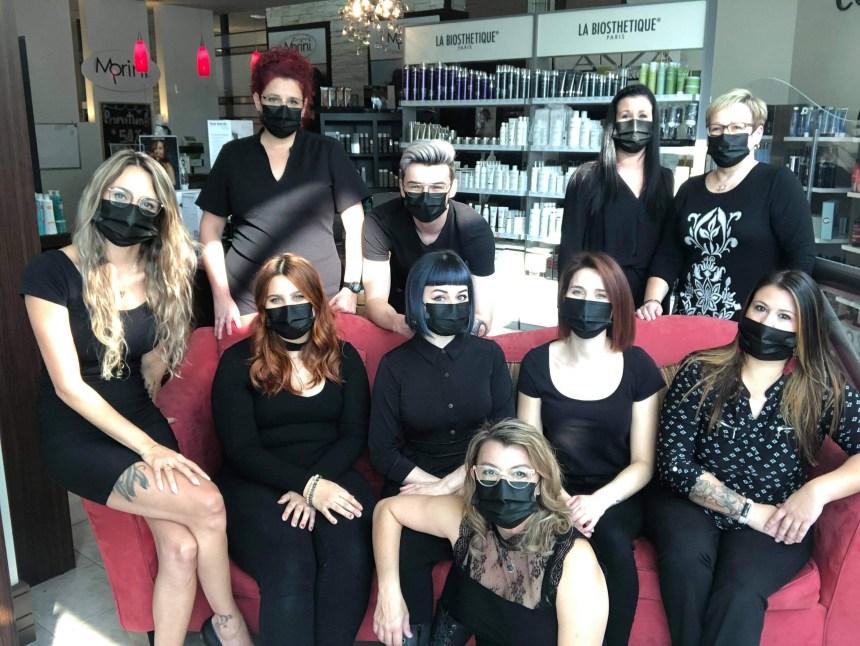 Morini Coiffure: La force de l'équipe
