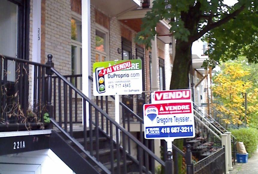 Hausse de 72% de la revente immobilière à Québec