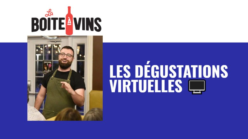 Organisez un dégustation virtuelle de vin québécois avec un sommelier