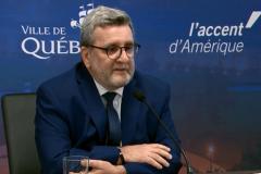La Ville de Québec révise son déficit financier à la baisse
