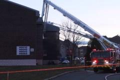 Alerte incendie dans un immeuble à logements dans Lebourgneuf