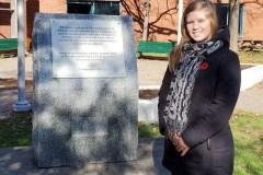 Une jeune amputée de Charlesbourg rend hommage aux anciens combattants