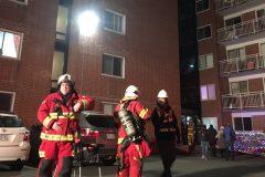 111 logements évacués dans le quartier Lairet