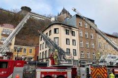 Alarme incendie dans le secteur du Petit Champlain