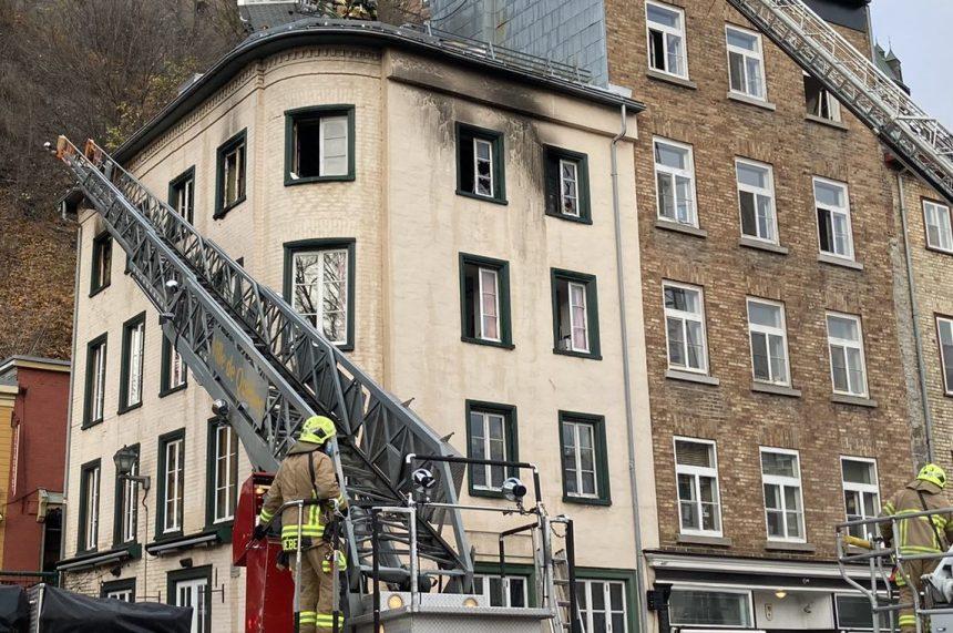 L'incendie du boulevard Champlain fait une victime