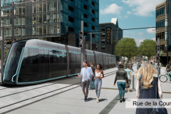Le futur tramway reflétera le patrimoine