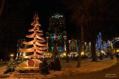 L'ambiance des Jardins de Noël allemand