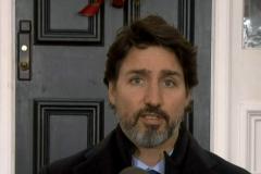 Justin Trudeau refuse de condamner les mesures de François Legault pour Noël