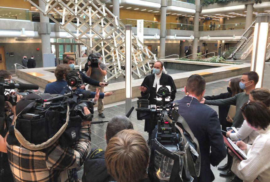 Tuerie dans le Vieux-Québec: passage éclair du suspect en Cour
