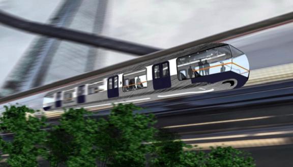 Un monorail offrirait un réseau cinq fois plus étendu que le tramway