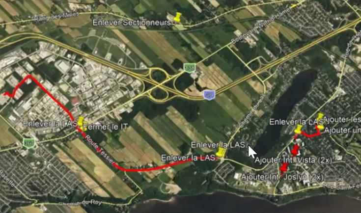 Nouvelle ligne d'Hydro profitable pour desservir Saint-Augustin