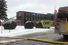 Incendie au Séminaire Saint-François